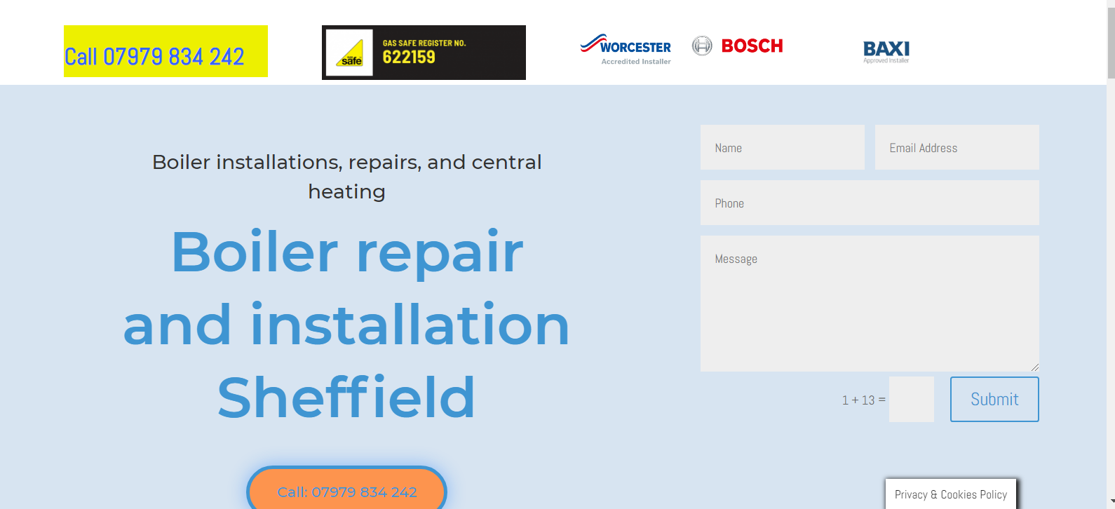 heating engineer website