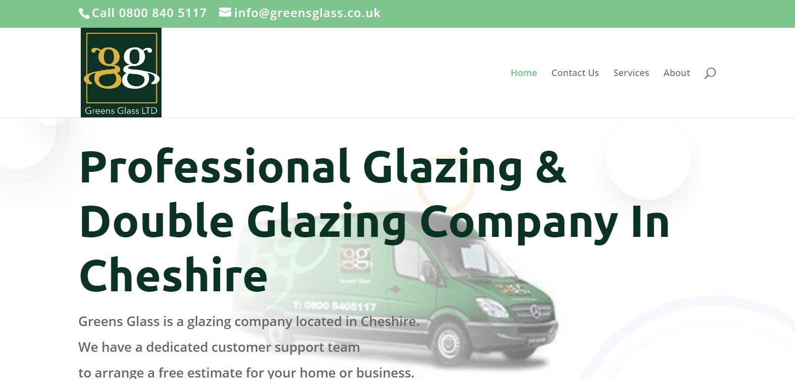 glazier website case study